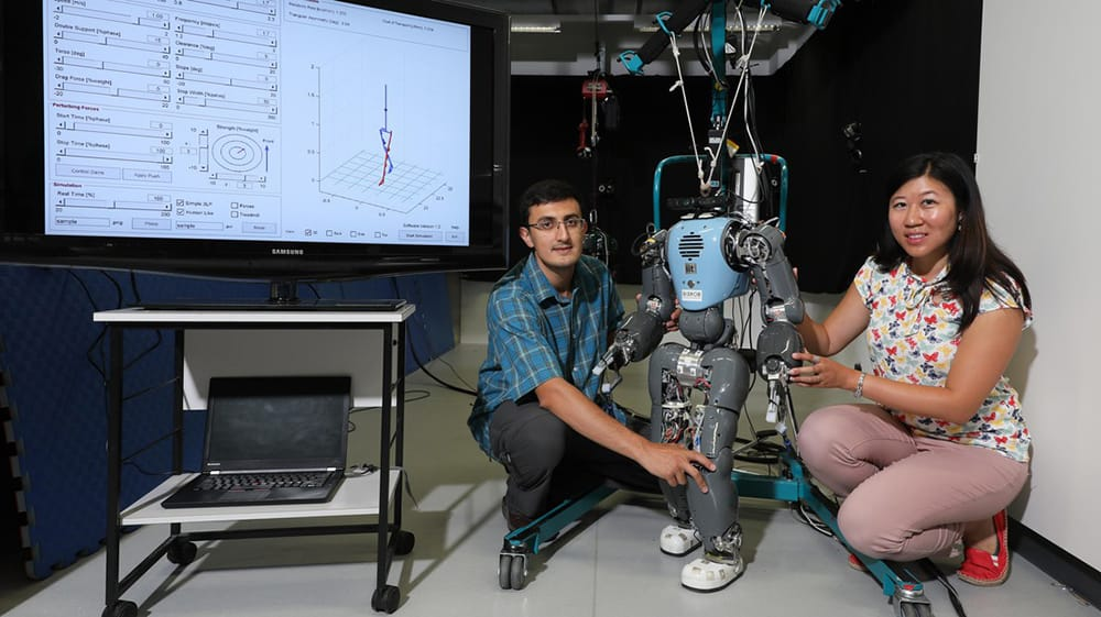 Photo of the avatar - a torso equipped with two legs with feet.