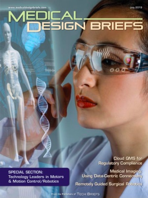Medical Design Briefs - July 2019
